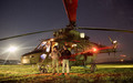 7th Air Squadron by night