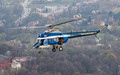 Polish Police Aviation - air to air in Krakow
