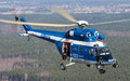 Polish Police Aviation - air to air in Warszawa Part 1